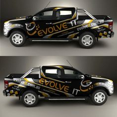 Car wrap design required for an IT company Computer & IT Services for Business. Van Wrap, Portfolio Design, Design Inspiration, Design Ideas, Designs To Draw, Easy Drawings, Custom Cars, Trucks, Graphic Design