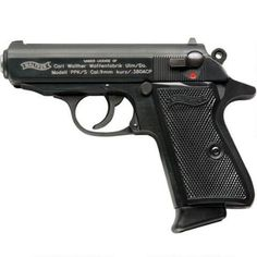 "Walther PPK/S Semi Auto Handgun .380 ACP 3.35"" Barrel 7 Rounds Fixed Sights Blue Finish VAH38005 - 698958001974"