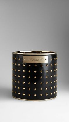Studded Leather Cuff | Burberry