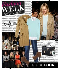 """""""Get the Look: Fashion Week Edition"""" by aisyahputri ❤ liked on Polyvore"""