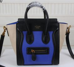 celine mini luggage tote price - Celine Luggage Nano Bag Original Leather CT3308S Pink&Black&Grey ...
