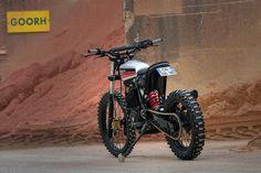 Honda XR600R Street Tracker - Dimitri Chaussinand #motorcycles #streettracker #motos | caferacerpasion.com