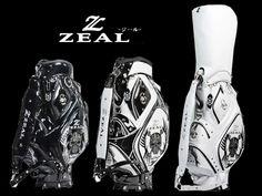 【楽天市場】【送料無料+特典付】【ZEAL/ジール】スカル エナメルキャディバッグ ZL-002(9.0型)スカルグリーンフォークプレゼント!:garage roman