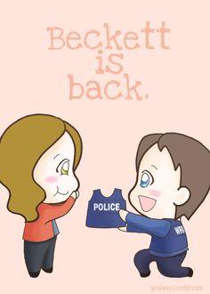 Beckett is back!