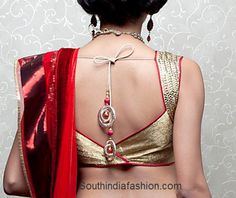 latest_saree_blouse_2013