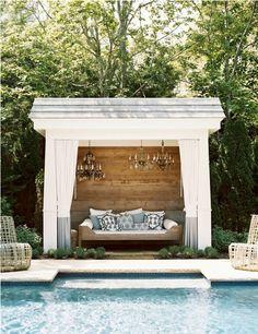El lugar ideal que soñaria tener para estar relax