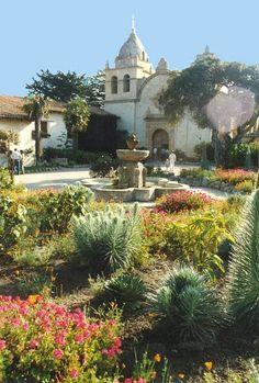 Carmel-by-the-Sea   Carmel-by-the-Sea, CA : San Carlos Borromeo de Carmelo, Founded: June ...