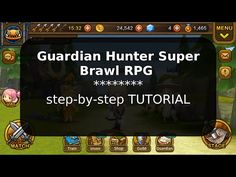 How to cheat with Guardian Hunter Super Brawl RPG HACK [ tutorial ] - YouTube