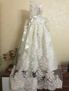 Baby Christening Gowns, Baptism Dress, Girl Baptism, Baptism Party, Baby Girl Dresses, Flower Girl Dresses, Flower Girls, Boys First Birthday Shirt, Babyshower