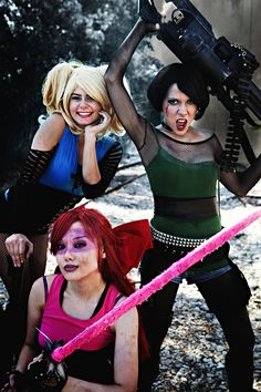 powerpuff girls ^^^i don't usually pin cosplays, but this is an awesome one!