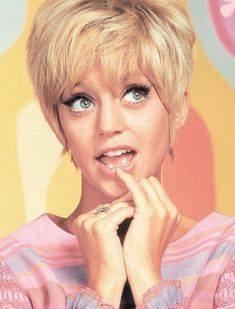 Goldie Hawn and Laugh In