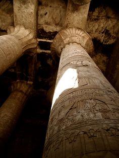 """"""" Pillars at the Temple of Horus, Edfu - Egypt 2013 """""""
