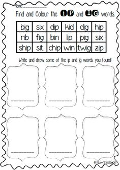 Eg and En word family pack. Literacy and spelling games