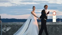 The nuptials of Stephan Casiraghi, the youngest son of Princess Caroline of Monaco and grandson of Grace Kelly, with Beatrice Borromeo, whose family sits among Italy's most ancient and aristocratic and whose spectacular taste has delighted the fashion world, have delighted royal fans and fashionistas  around the world.