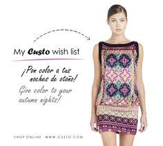 ¡Aquí va otra de nuestras prendas favoritas! ¿La añadirías a tu Wish List?  Here you have other of our favourite piece of clothing! Would you add it to your Wish List?  Shop online at custo.com