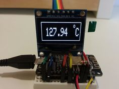 Picture of Final Examples and Comparison With Commercial Temp Sensor