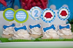 Blues Clues Themed Birthday Party