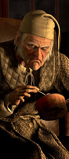 Scrooge, voiced by Jim Carrey, in the 2009 Disney adaptation of Charles Dickens's classic tale. Scrooge A Christmas Carol, Ghost Of Christmas Past, A Christmas Story, Christmas Movies, Vintage Christmas, Christmas Classics, English Christmas, Christmas Vacation, Christmas Costumes