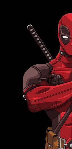 Deadpool 2 Amoled wallpaper by SteamOnYouTube - 2d98 - Free on ZEDGE™