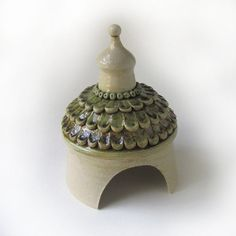 Toad House by RoundroofDesigns on etsy