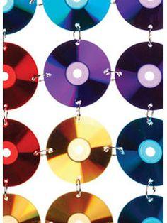 El disco compacto en mi dormitorio esta muy colordio.
