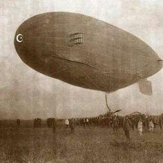 Osmanlı'da ilk zeplin uçuşu, Yeşilköy 1913