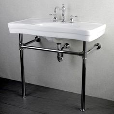 French Petite White Vessel Sink | Overstock.com Shopping - The Best Deals on Bathroom Sinks