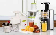 Kickstart your health routine with nutritious, fresh juice.   Learn more about the different types of juicers on the market.