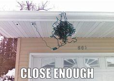 #ChristmasLightCatastrophe