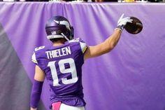 c43bcd6e1d 25 Best Adam Thielen images in 2019   Minnesota Vikings, Vikings ...