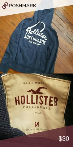 Hollister hoodie Lightly worn hoodie. In great condition no rips or stains Hollister Sweaters
