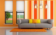 Textura de rayas en tonos naranja