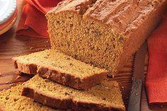 Pumpkin-Cream Cheese Bread