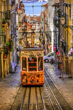 Bica Quarter, Lisbon, Portugal