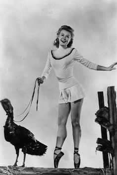 16 Hilarious and Bizarre Vintage Thanksgiving Pinups ~ vintage everyday