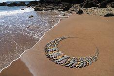Stone - Jon Foreman Pebble Painting, Pebble Art, Stone Painting, Rock Painting, Garden Mural, Garden Art, Garden Ideas, Mosaic Walkway, Stone Cairns