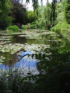 Monets famous Lily pond. Chateau de Versailles