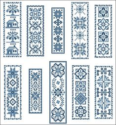 Victorian Blue BookMarks Cross