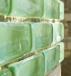 Glass Brick- the only thing better than glass tile