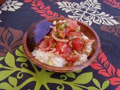 ahi poke bowl at Haili's Hawaiian Restaurant