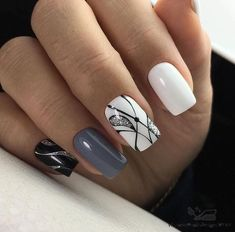 Beauty Nails – Nail Art Design Nagellack # Nagellack # Nageldesign – Nägel, You can collect images you discovered organize them, add your own ideas to your collections and share with other people. Trendy Nails, Cute Nails, Hair And Nails, My Nails, Latest Nail Art, Nail Swag, Gorgeous Nails, Cool Nail Art, Nail Arts
