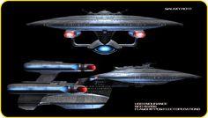 -U-S-S-Enourance-NCC-45996-Class-Galaxy-star-trek