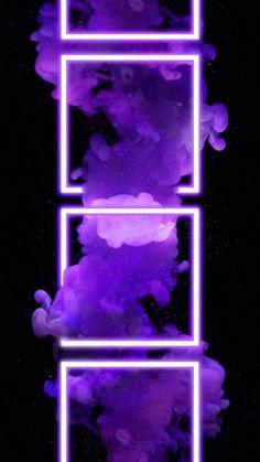 Neon Smoke - iPhone Wallpapers