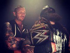 Bray Wyatt and Randy Orton #wrestling