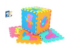 Mata puzzle PIANKOWA dla dzieci ZWIERZĄTKA*1qx