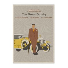 Baz Luhrmann – The Great Gatsby – A2 from Film Poster Pop-Art - R199 (Save 0%)