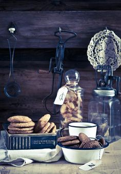 """Cookies recipe: Snickerdoodles, Nutella Cookies and Elephant Ears """"Palmiers"""", via matkonation #baking #sweets"""