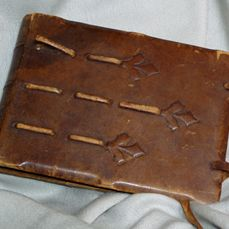 The sketchbook given by Jessie to Scotch for his birthday in May 1919 - Liberty Silk, page 41