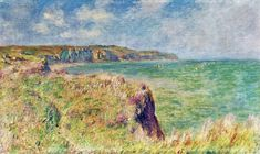 1882+Edge+of+the+Cliff+at+Pourville+oil+on+canvas.jpg (640×382)