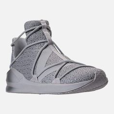 Puma Women's Fierce Rope Chandelier Casual Athletic Sneakers from Finish Line - Gray 11 High Top Sneakers, Shoes Sneakers, Women's Shoes, Finish Line, Training Shoes, Product Launch, It Is Finished, Lace Up, Slip On